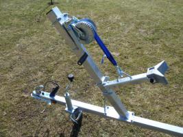 Foto 4 Bootstrailer, Sliptrailer, Bootsanhänger, Marlin 500 kg NEU