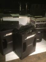 Bose Komplettset inkl. 2 Bose 802 / 302 + Endstufen und Controller