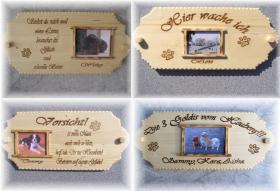 Foto 4 Boxen und Türschilder aus Holz
