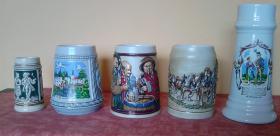Foto 3 Brauereikrüge und Zierkrüge 41 Stück verschiedene