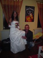 Foto 2 Brautkleid Grösse 36 mit Zubehör