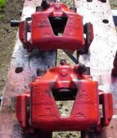 Bremssattel Opel Astra GSI, Ate, rot