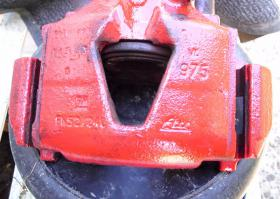 Foto 3 Bremssattel Opel Astra GSI, Ate, rot