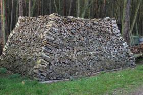 Foto 3 Brennholz 25cm gemischt, ofenfertiger Haufen mit 22,4 Raummeter