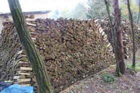 Foto 5 Brennholz 25cm gemischt, ofenfertiger Haufen mit 22,4 Raummeter