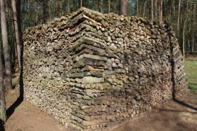Foto 4 Brennholz, 50cm Länge gemischt; 42,5m³ Haufen