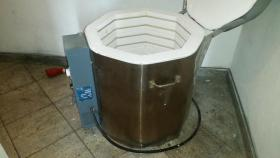 Foto 4 Brennofen Keramik.Brennofen Töpferofen 1230 C 83 Liter