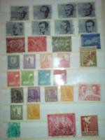 Foto 18 Briefmarken aus nachlas Erstagsbriefe alte Kamera von 1945 Zylinder klapfix von 1900 mit original Kaiserreichwappen