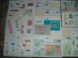 Foto 5 Briefmarkensammlung  der Vereinte-Nationen-Genf komplett