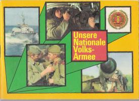 Broschüre Unsere Nationale Volksarmee