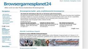 Browsergame Rollenspiel