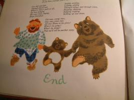 Foto 4 ''Bruin Furryball in his forest home'' ein Kinderbuch.