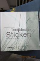 Buch Textildesign Sticken  von Tellier-Loumage