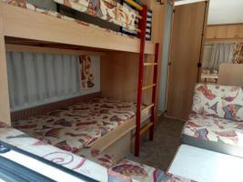 Bürstner 480TK, incl.Vorzelt, Kinder Stockbetten, Tüv neu,5-6 Schlafplätze