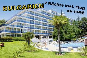 Bulgarien Goldstradn Hotel Perla 7Nächte inkl. Flug ab 144€