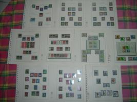 Bund-und Berlin-Briefmarken postfrisch und gestempelt in Lindneralben
