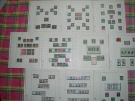 Foto 3 Bund-und Berlin-Briefmarken postfrisch und gestempelt in Lindneralben