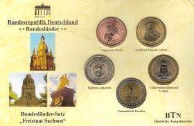 Bundesländer-Satz ''Freistaat Sachsen''