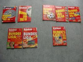 Bundesliga Jahreskicker meherere Jahre