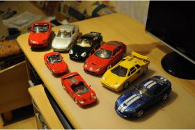 Burago Sammlung Modellautos - 1:18 - Ferrari - Dodge Viper - Porsche - Lamborghini