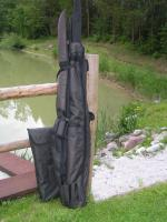 Byron Carp Quiver + 3x 12/13ft. Sleeves