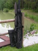 Foto 2 Byron Carp Quiver + 3x 12/13ft. Sleeves