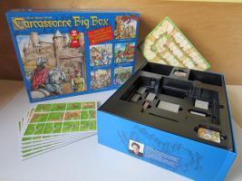 CACRASSONNE BIG BOX - 5 Erweiterungen - Hans im Glück Verlag