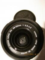 Foto 3 CANON-Objektive, CANON T50 Gehäuse