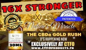 CBD Oil Cannabis Hydrophil 16x stärker