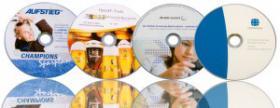 Foto 3 CD Rohlinge bedrucken von DVD Druck MK DiscPress