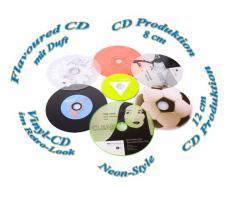 Foto 4 CD Rohlinge bedrucken von DVD Druck MK DiscPress