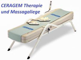CERAGEM Massage & Therapieliege zum Probeliegen. Med. anerkannt