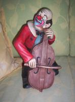 CLOWN- DEKO-Figuren