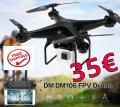COPTER DRONE DM106 FPV Cam WiFi nur 35€ frei Haus