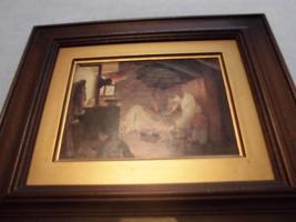 Foto 3 C. SPITZWEG (1808-1885), großes Bild, antik; ''nur Bild'': 15x11 cm, mit Rahmen:  29,5x25,5 cm