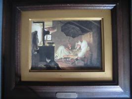 Foto 6 C. SPITZWEG (1808-1885), großes Bild, antik; ''nur Bild'': 15x11 cm, mit Rahmen:  29,5x25,5 cm