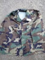 Camouflage Woodland Kampfanzugjacke