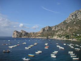 Bucht von Marina del cantone