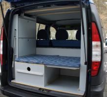 Campingausbau für Fiat Doblo von der C-Tech aus Sarstedt