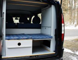 Foto 2 Campingausbau für Fiat Doblo von der C-Tech aus Sarstedt
