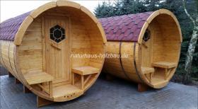 Campingfass, Schlaffass, Campingpod, Sauna Pod, Fass Sauna, Saunafass, Fasssauna