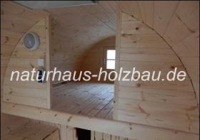 Foto 7 Campingfass, Schlaffass, Campingpod, Sauna Pod, Fass Sauna, Saunafass, Fasssauna