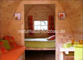 Foto 14 Campingfass, Schlaffass, Campingpod, Sauna Pod, Fass Sauna, Saunafass, Fasssauna