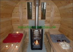 Foto 27 Campingfass, Schlaffass, Campingpod, Sauna Pod, Fass Sauna, Saunafass, Fasssauna
