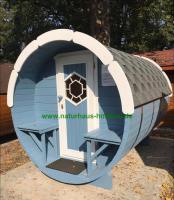 Foto 34 Campingfass, Schlaffass, Campingpod, Sauna Pod, Fass Sauna, Saunafass, Fasssauna