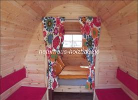 Foto 4 Campingfass, Schlaffass, Campingpod, Schlafpod, Saunapod, Fasssauna, Saunafass, Sauna