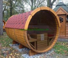 Foto 19 Campingfass, Schlaffass, Campingpod, Schlafpod, Saunapod, Fasssauna, Saunafass, Sauna