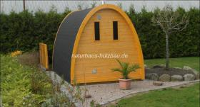 Foto 7 Campingpod, Camping Pod, Schlafpod, Campingfass, Schlaffass, Saunapod, Fasssauna, Saunafass