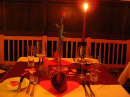 Foto 3 Candle-Light-Dinner vor dem Kamin in Augsburg