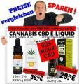 Cannabis CBD E-Liquid vergleich billiger als Natura Vitalis E-Cig